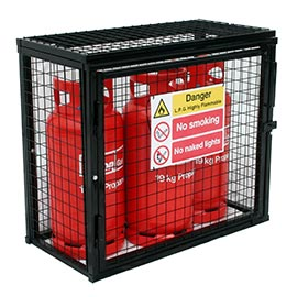 static gas cylinder cages - Gas Cylinder Cages