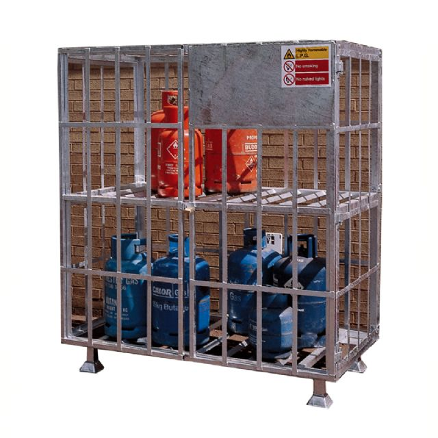 static forecourt gas cylinder cages - Gas Cylinder Cages