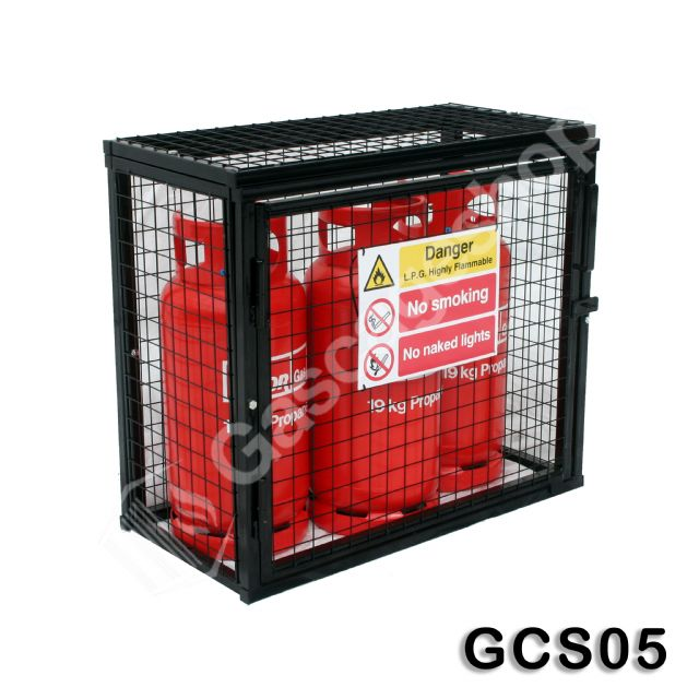 Gas Cylinder Cage 900x1000x500mm