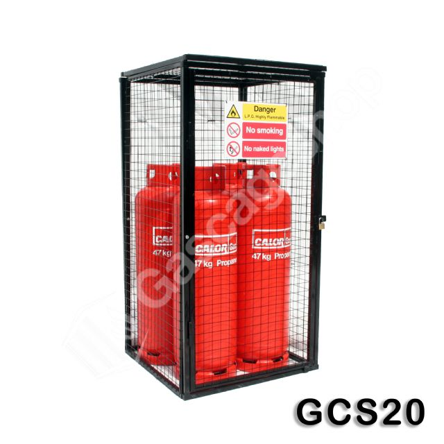 Gas Cylinder Cage 1800x900x900mm
